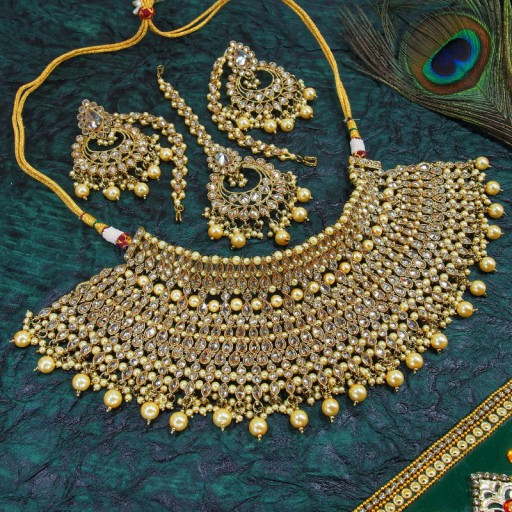 Designer Patwa Necklace Set