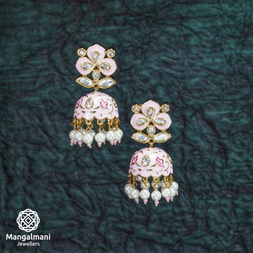Mint Meena Earrings